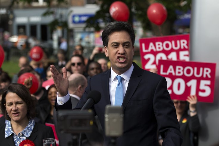 Labour leader Ed Miliband has seen his approval rating improve markedly since the start of 2015.  (Getty)