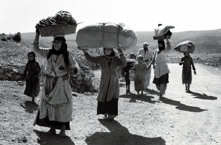 The Nakba. (Reuters)