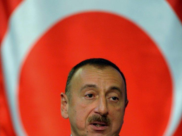 Ilham Aliyev, president of Azerbaijan. (Reuters)