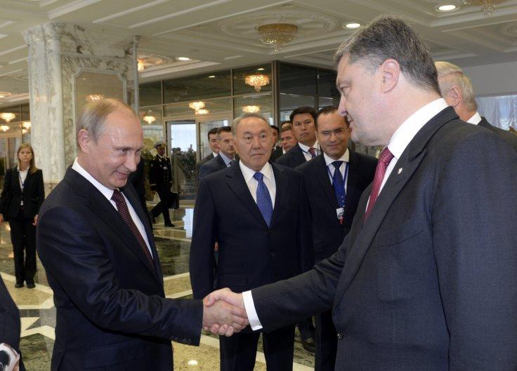 Putin meets Poroshenko. (Reuters)